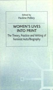 Cover of: Women's Lives Into Print by Pauline Polkey