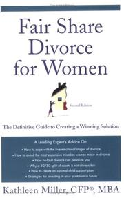 Cover of: Fair Share Divorce for Women | Kathleen A. Miller