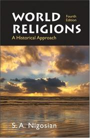 Cover of: World Religions | Solomon A. Nigosian
