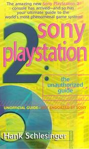 Cover of: Sony Playstation 2 | Hank Schlesinger