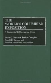 Cover of: The World's Columbian Exposition by David J. Bertuca