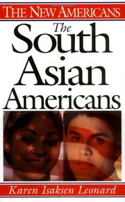 Cover of: The South Asian Americans by Karen Isaksen Leonard