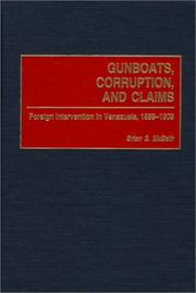 Cover of: Gunboats, Corruption, and Claims | Brian S. McBeth