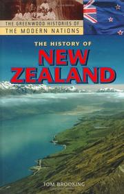 Cover of: The history of New Zealand | Tom Brooking