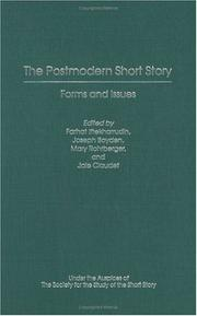 Cover of: The postmodern short story |