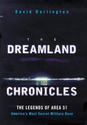 Cover of: DREAMLAND CHRONICLES | DAVID DARLINGTON