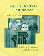 Cover of: Financial Markets and Institutions Conflicts of Interest Edition (4th Edition) (The Addison-Wesley Series in Finance) | Stanley G. Eakins
