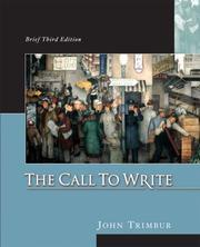 Cover of: Call to Write, Brief by John Trimbur