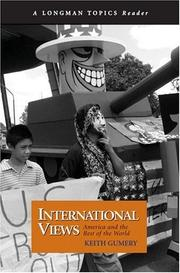 Cover of: International Views | Keith Gumery