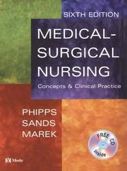 Cover of: Medical-surgical nursing | Wilma J. Phipps, Judith K. Sands, Jane F. Marek