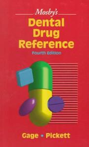 Cover of: Mosby's Dental Drug Reference (Mosby's Dental Drug Consult) | Frieda Atherton Pickett