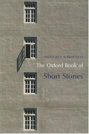 Cover of: The Oxford Book of Short Stories (Oxford Books of Prose) | V. S. Pritchett