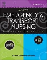 Cover of: Mosby's Emergency & Transport Nursing Examination Review | Renee S. Holleran