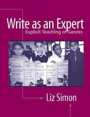 Cover of: Write as an Expert | Liz Simon
