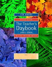Cover of: The Teacher's Daybook, 2005-2006 | Jim Burke