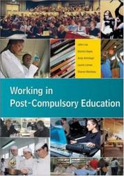 Cover of: Working in Post-Compulsory Education by John Lea
