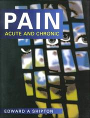 Cover of: Pain | Edward A. Shipton