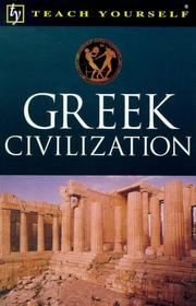 Cover of: Greek Civilization | John Purkis