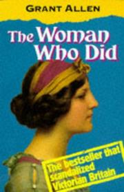 Cover of: The Woman Who Did by Grant Allen