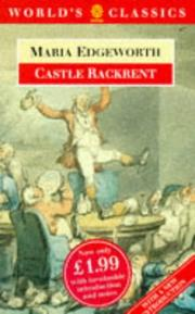 Cover of: Castle Rackrent by Maria Edgeworth