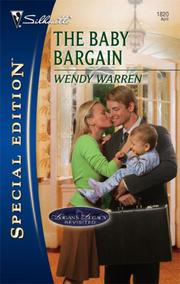 Cover of: The Baby Bargain | Wendy Warren