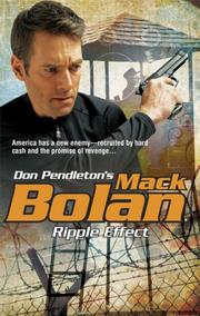 Cover of: Ripple Effect (Mark Bolan: Super Bolan) by Don Pendleton