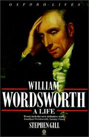 Cover of: William Wordsworth | Stephen Gill