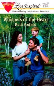 Cover of: Whispers Of The Heart (Ruth Schofield, Steeple Hill, Love Inspired Romance) | Ruth Schofield