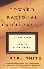 Cover of: Toward Rational Exuberance | B. Mark Smith