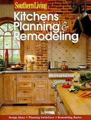 Cover of: Kitchens Planning & Remodeling (Southern Living) | Southern Living