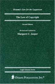 Cover of: The Law of Copyright, 2nd Edition | Margaret Jasper