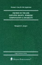 Cover of: Injured on the Job by Margaret Jasper