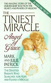 Cover of: The tiniest miracle by Mark Patrick