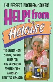 Cover of: Help from Heloise | HELOISE