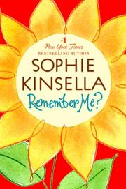 Cover of: Remember Me? | Sophie Kinsella