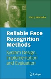 Cover of: Reliable Face Recognition Methods by Harry Wechsler