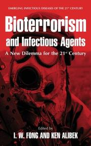 Cover of: Bioterrorism and infectious agents | I. W. Fong, Ken Alibek