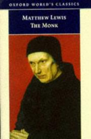 Cover of: The Monk by Matthew Gregory Lewis