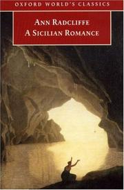 Cover of: A Sicilian Romance | Ann Ward Radcliffe