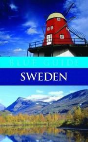 Cover of: Blue Guide Sweden | Stanley Bloom