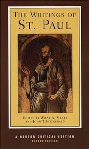 Cover of: The Writings of St. Paul by St. Paul