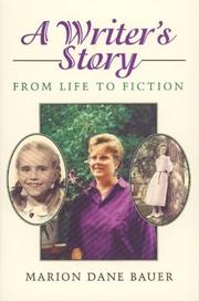 Cover of: A writer's story | Marion Dane Bauer