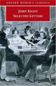 Cover of: The letters of John Keats by John Keats