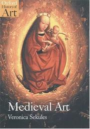 Cover of: Medieval art | Veronica Sekules