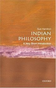Cover of: Indian philosophy | Sue Hamilton