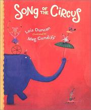 Cover of: Song of the circus | Lois Duncan
