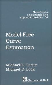 Cover of: Model-free curve estimation | Michael E. Tarter