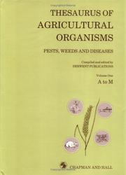 Cover of: Thesaurus Agricultural Organisms | Derwent Public
