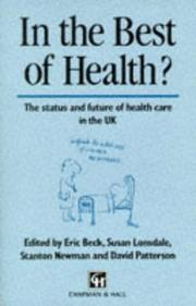Cover of: In the Best of Health? | S. Lonsdale