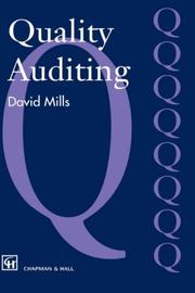 Cover of: Quality Auditing | J. Mills